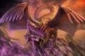 Picture dragon, wings, Art Edit, Feathered dragon, Feathered Dragon