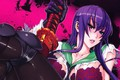 Picture blood, anime, busujima saeko, hotd