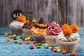Picture heluin, cream, cupcakes, holiday, decoration