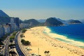 Picture the city, shore, Beach