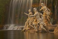 Picture Italy, fountain, sculpture, Royal Palace, Campaign, Caserta