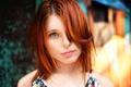 Picture redhead, Sasha, sponge, Alexander Grunsky, the beauty