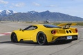 Picture Ford, car, montain, Ford GT, yellow