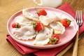 Picture berries, strawberry, dumplings