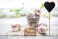 Picture flowers, Easter, happy, heart, flowers, spring, Easter, eggs, decoration, pastel, the painted eggs