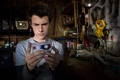 Picture Dylan Minnette, 13 Reasons Why, Netflix, tv series, Clay Jensen