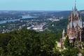 Picture Konigswinter, river, North Rhine-Westphalia, Rhine River, Dragon Castle, Dragon's Castle, King winter, The City Of ...