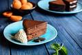 Picture ice cream, cake, sdadkoe, chocolate, a piece of cake