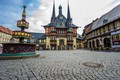 Picture home, Germany, area, fountain, Wernigerode