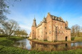 Picture castle, Gelderland, Netherlands, Doorwerth Castle, Holland