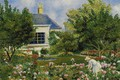 Picture landscape, picture, In The Garden, Georges Henri Manzana Pissarro, Georges-Henri Manzana-Pissarro
