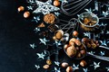 Picture decoration, New Year, Christmas, nuts, cinnamon, happy, Christmas, bumps, New Year, Merry Christmas, Xmas, spices, ...