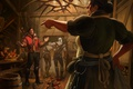 Picture girl, male, art, geralt, Witcher, The Witcher 3: Wild Hunt, The Witcher 3: wild hunt, ...