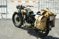 Picture motorcycle, second, times, world war, military