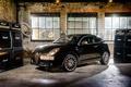 Picture Great Britain, supermini, powerful, audio amplifier, Alfa Romeo MiTo By Marshall, black, UK, brick, garage, ...