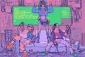 Picture fiction, future, Cyberpunk