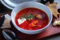 Picture bread, soup, garlic, fat