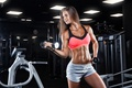 Picture girl, female, workout, gym
