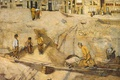 Picture picture, oil, Richard Roland Holst, Sand Quarry in Amsterdam