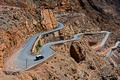 Picture road, mountains, stones, rocks, serpentine, Morocco, Dades