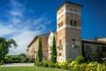 Picture Italy, the sky, Monastery Of San Vigilio, Temples, Italy, temple