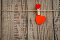 Picture heart, romantic, wood, heart, love