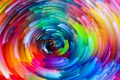 Picture rainbow, painting, colorful, abstract, colors, splash