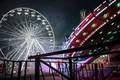 Picture Remy Soubanere, Alphaville, Ferris wheel, Ferris wheel, night, amusement Park