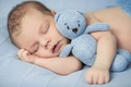 Picture baby, hands, sleeping, sleep, toys, child, infants, toy