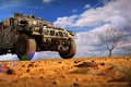 Picture sand, tree, desert, SUV, desert, military, hummer h1, protector, winch, Off-road, Djordje Jovanovic