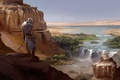 Picture assassin, desert, Heath, Assassin's Creed Origins, Egypt