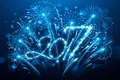 Picture New Year, new year, happy, blue, decoration, 2017, holiday celebration