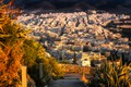 Picture autumn, the sun, home, Greece, panorama, the view from the top, Athens