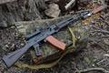 Picture Kalashnikov, strap, AK-74, bayonet knife