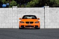 Picture BMW, trees, BMW, The fence, orange, the sky, e92