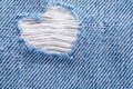 Picture heart, background, denim, jeans