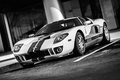 Picture Ford, White, service, Amer, Stripes, American, bucket, Pindos, Blue, Racing, sport, Machine, Sports car, Ford, ...
