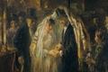 Picture picture, genre, Jewish Wedding, Joseph Israels