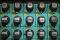 Picture electricity meter, devices, background