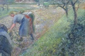 Picture Camille Pissarro, genre, Peasants at Work. PONTOISE, picture