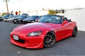 Picture tuning, red, convertible, Honda, drives, red, S2000, stance, Honda S2000