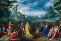 Picture oil, picture, copper, mythology, The Magnanimity Of Scipio, Karel van Mander I
