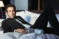 Picture look, face, costume, bed, male, shirt, Ryan Reynolds, Ryan Reynolds, photoshoot