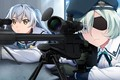 Picture weapons, girls, anime, Grisaia: Phantom Trigger