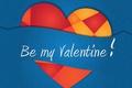 Picture Valentine. Valentine's Day, vector, heart