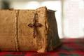 Picture book, cross, prayer
