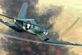 Picture USA, Corsair, Chance Vought, single carrier-based fighter, F4U-1