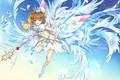 Picture crystals, Crown, Card Captor Sakura, girl