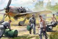 Picture figure, The airfield, FW-190, German air force ground crew, Aviation equipment, German aircraft