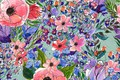 Picture seamless, pattern, Floral, Flowers, pattern
